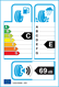 etichetta europea dei pneumatici per Hankook Optimo K415 225 55 17 97 V