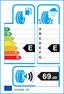 etichetta europea dei pneumatici per Hankook Optimo K715 145 80 13 75 T