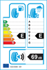 etichetta europea dei pneumatici per Hankook Optimo K715 135 70 13 68 T SBL