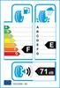 etichetta europea dei pneumatici per Hankook Optimo K715 165 70 13 83 T E F XL