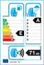 etichetta europea dei pneumatici per hankook Ra28 Radial 205 65 16 107 T 8PR