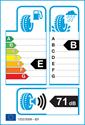 etichetta europea dei pneumatici per Hankook RA28 Radial 215 65 16