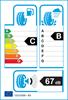 etichetta europea dei pneumatici per Hankook Ventus Evo 2 K117 205 55 17 95 W * B BMW K1 XL