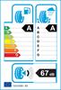 etichetta europea dei pneumatici per hankook Ventus Prime 3 K125 205 60 16 96 H XL
