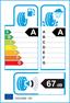 etichetta europea dei pneumatici per Hankook Ventus Prime 3X K125a 235 55 18 100 V MFS