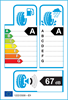 etichetta europea dei pneumatici per Hankook Ventus Prime 3X K125a 215 65 17 99 V DEMO