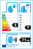 etichetta europea dei pneumatici per Hankook Winter I-Cept Iz2 W616 185 70 14 92 T * 3PMSF BMW BSW M+S XL