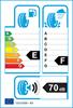 etichetta europea dei pneumatici per Hankook Winter I Cept W605 155 70 13 75 Q