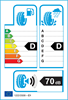 etichetta europea dei pneumatici per HIFLY Hf201 145 70 12 69 T M+S