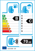 etichetta europea dei pneumatici per Hilo Genesys Xp1 205 45 17 88 W XL