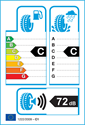 etichetta europea dei pneumatici per Infinity ECOSIS 205 55 16