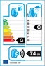 etichetta europea dei pneumatici per kama K-232 Lada Niva (Senza M+S) 185 75 16 95 T M+S