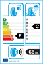 etichetta europea dei pneumatici per Kelly St 145 70 13 71 T