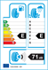 etichetta europea dei pneumatici per kelly Winter Hp 215 55 16 93 H 3PMSF