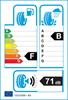 etichetta europea dei pneumatici per kenda Kr500 225 75 16 121 R 3PMSF M+S