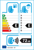 etichetta europea dei pneumatici per Kenda Kr501 215 60 16 99 H XL