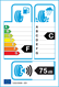 etichetta europea dei pneumatici per Kenda Kr501 205 50 17 93 H XL