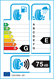 etichetta europea dei pneumatici per Kenda Kr501 205 55 16 94 H XL