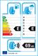 etichetta europea dei pneumatici per King Star Sk10 185 55 15 82 V