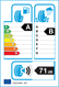 etichetta europea dei pneumatici per kumho Crugen Hp91 215 65 16 98 H