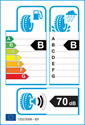 etichetta europea dei pneumatici per Kumho Crugen HP91 215 65 16
