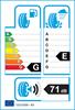 etichetta europea dei pneumatici per Kumho Cw51 205 65 15 102 T 3PMSF M+S
