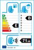 etichetta europea dei pneumatici per Kumho Ecsta Ps71 245 40 18 93 Y RunFlat