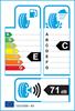 etichetta europea dei pneumatici per Kumho Ha31 185 55 14 80 h 3PMSF M+S