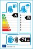etichetta europea dei pneumatici per Kumho Kh27 195 65 15 91 H