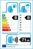 etichetta europea dei pneumatici per Kumho Kh27 195 60 15 88 H