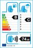 etichetta europea dei pneumatici per Kumho Kl17 245 70 16 107 H