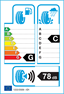 etichetta europea dei pneumatici per kumho Kl71 235 75 15 104 Q 6PR C M+S