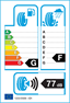 etichetta europea dei pneumatici per kumho Kl71 195 80 15 100 Q M+S