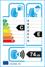 etichetta europea dei pneumatici per Kumho Kw27 205 65 16 95 V