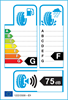 etichetta europea dei pneumatici per Kumho Kw27 205 50 17 89 V 3PMSF M+S RunFlat
