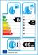etichetta europea dei pneumatici per kumho Ps71 R Fl - 205 50 17 93 W XL