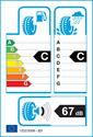 etichetta europea dei pneumatici per Kumho Solus KH25 205 55 17