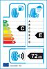 etichetta europea dei pneumatici per Kumho Wintercraft Wp71 255 35 18 94 V XL