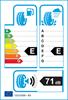 etichetta europea dei pneumatici per Kumho Wintercraft Wp71 215 45 17 91 V 3PMSF M+S XL