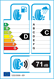 etichetta europea dei pneumatici per Lanvigator Comfortii 205 55 16 91 V B C