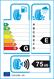 etichetta europea dei pneumatici per lassa Snoways 3 225 40 18 92 V 3PMSF M+S XL