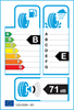 etichetta europea dei pneumatici per lassa Snoways 4 205 60 16 92 H 3PMSF