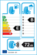 etichetta europea dei pneumatici per matador Mp47 225 45 18 95 Y FR XL