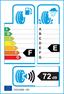 etichetta europea dei pneumatici per matador Mp72 A/T 225 70 16 103 H 3PMSF FR M+S
