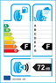 etichetta europea dei pneumatici per Maxxis Ma-Sas 255 55 18 109 V 3PMSF M+S XL