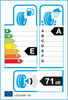 etichetta europea dei pneumatici per Maxxis Vansmart A/S Al2 165 70 14 89 R 3PMSF