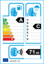 etichetta europea dei pneumatici per Maxxis Vansmart Snow Wl2 215 65 15 104 T 6PR C
