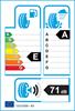 etichetta europea dei pneumatici per Maxxis Vansmart Snow Wl2 165 70 14 89 R 3PMSF C FR M+S