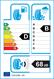 etichetta europea dei pneumatici per Michelin Alpin 5 185 65 15 88 T 3PMSF M+S
