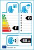 etichetta europea dei pneumatici per Michelin Alpin 5 205 45 16 87 H XL